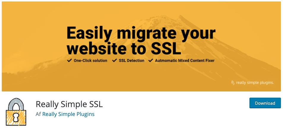 Aktivering af SSL-certifikat med plugin