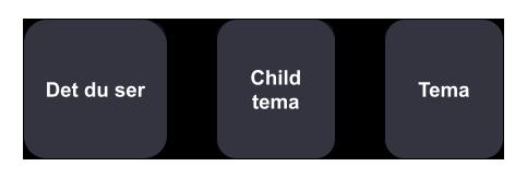 opbygning af child tema